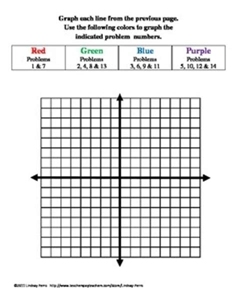 127 Best Images About Math Linear Relationships On Pinterest  Activities, What's My Line And
