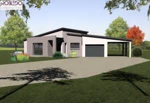 style de maison moderne plain pied maison plain pied moderne toit plat maison moderne