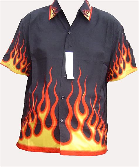 changing room   flame shirts