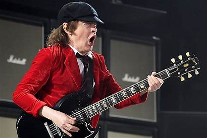 Angus Young Stage Fright Still Suffers Rock