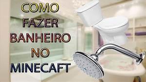 Como Fazer Um Banheiro No Minecraft YouTube