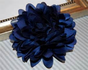 wholesale carnations navy blue fabric flower 4 39 39 large silk navy blue