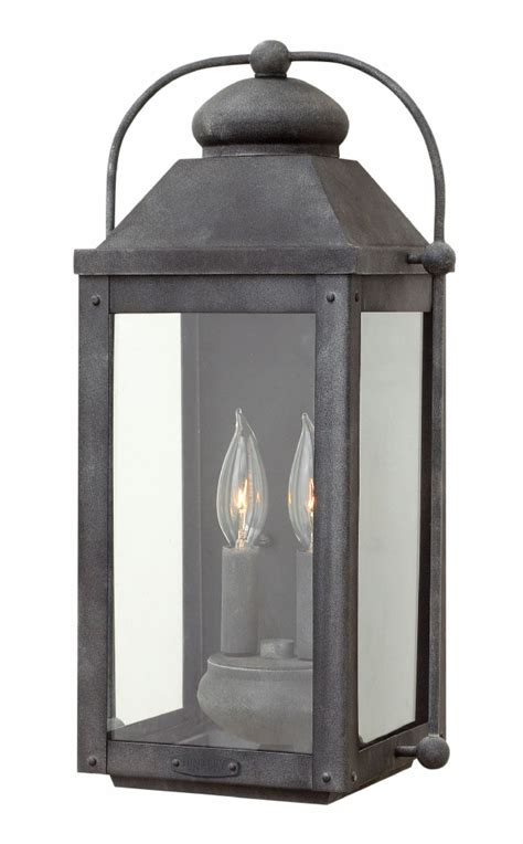 Exterior Sconce Lighting Fixtures - hinkley lighting carries many aged zinc anchorage lanterns