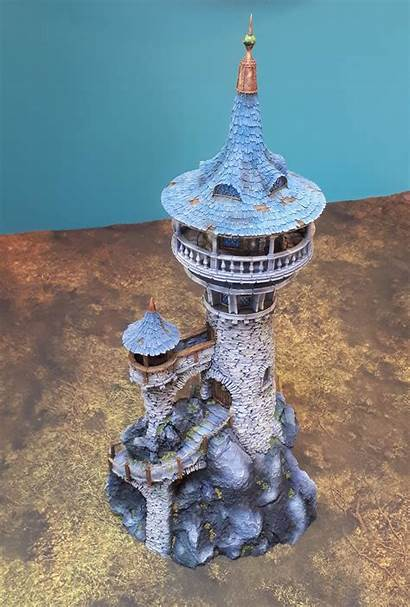 Wizard Tower Tabletop Workshop Dr