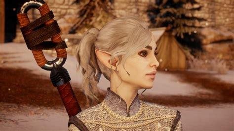 ponytail mod  female humans female elves  female