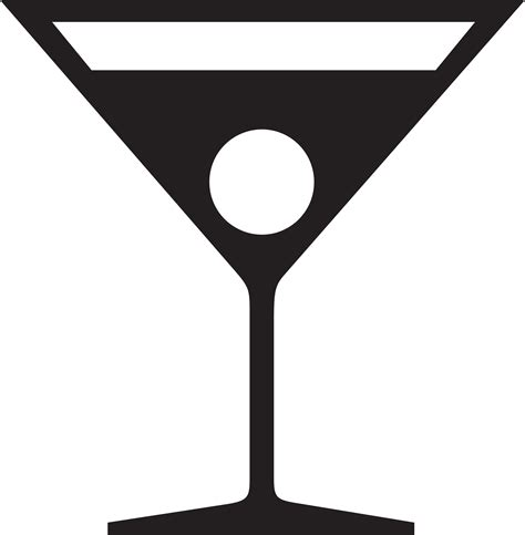 mixed drink clipart black and martini cliparts