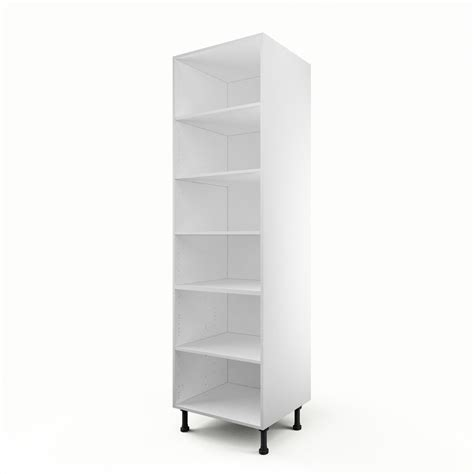caisson de cuisine colonne c60 200 delinia blanc l60 x h215 x p56 cm leroy merlin