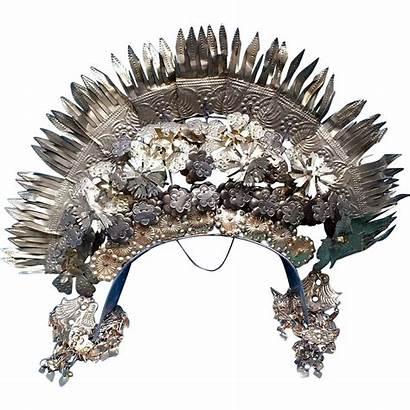Headpiece Tiara Crown Headdress Sumatra Indonesia Rubylane