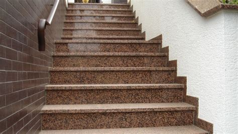 Granit Für Außentreppe by Au 223 Entreppe Aus Granit Beton Naturstein Waschbeton
