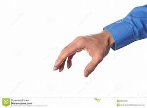 Hand Reaching For Something Stock Photo - Image: 35015298