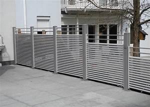 Holzlatten Für Zaun : alu zaun landeck leeb balkone und z une ~ Orissabook.com Haus und Dekorationen