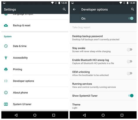 developer options android android marshmallow tips and tricks a dozen you