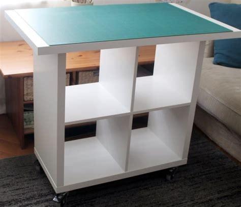Ikea Küchentheke by Ikea Hack Diy Stoff Zuschneide Tisch Ganz Einfach