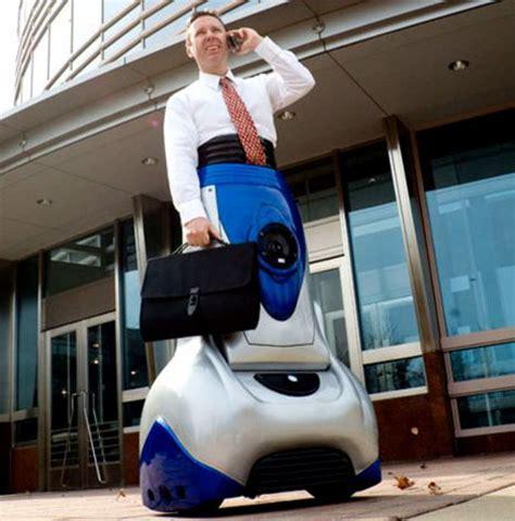segway like mobility device gets paraplegics around easily