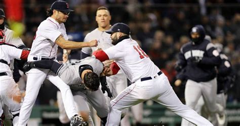 MLB Hands Out suspension For Yankees-Red Sox Brawl ...