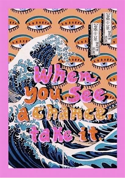 Vsco Aesthetic Quotes Happy Collage Words Trippy