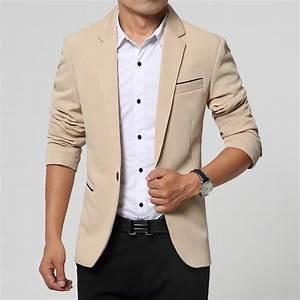 2016 Summer Style Luxury Business Casual Suit Men Blazers ...