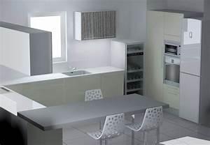 Colonne D Angle Cuisine : etude cuisine montpellier 2 ~ Teatrodelosmanantiales.com Idées de Décoration