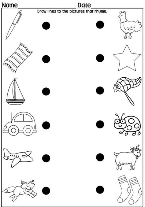 alliteration activities for kindergarten worksheets for