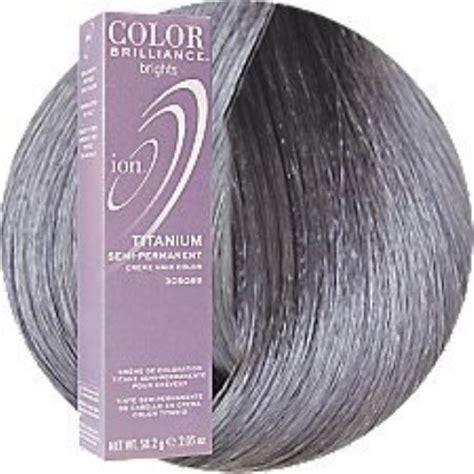 ion hair color titanium ion hair colors semi