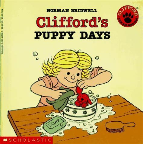 Cliffords Puppy Days Clifford, Norman Bridwell (paperback