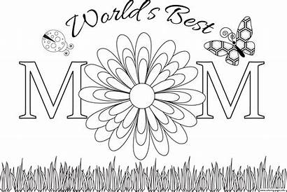 Coloring Mom Pages Mothers Printable Worlds Mylifeuntethered