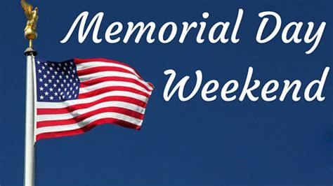 memorial day weekend  memory  honored dead armed people