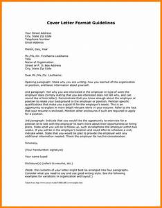 Cover letter set up how to format cover letter for Setting up a cover letter