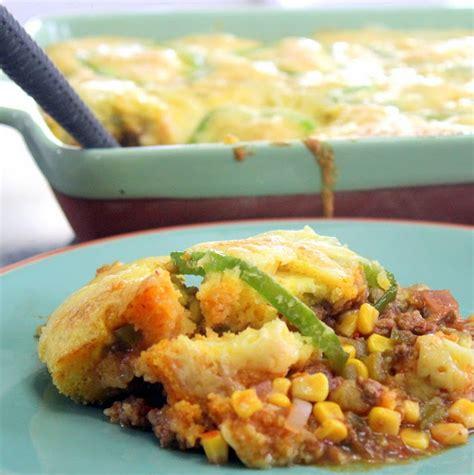 Inspired By Erecipecards Taco Corn Bread Casserole