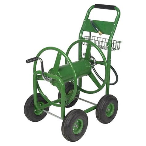 water hose reel cart tahoe 50204181 300 ft heavy duty