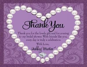 generic bridal shower thank you card wording 99 wedding With wedding shower thank you wording
