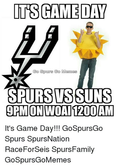 Game Day Meme - 25 best memes about san antonio spurs gaming meme and