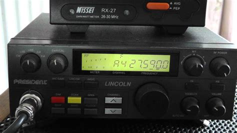 Cb Lincoln Modification president lincoln frequency modification