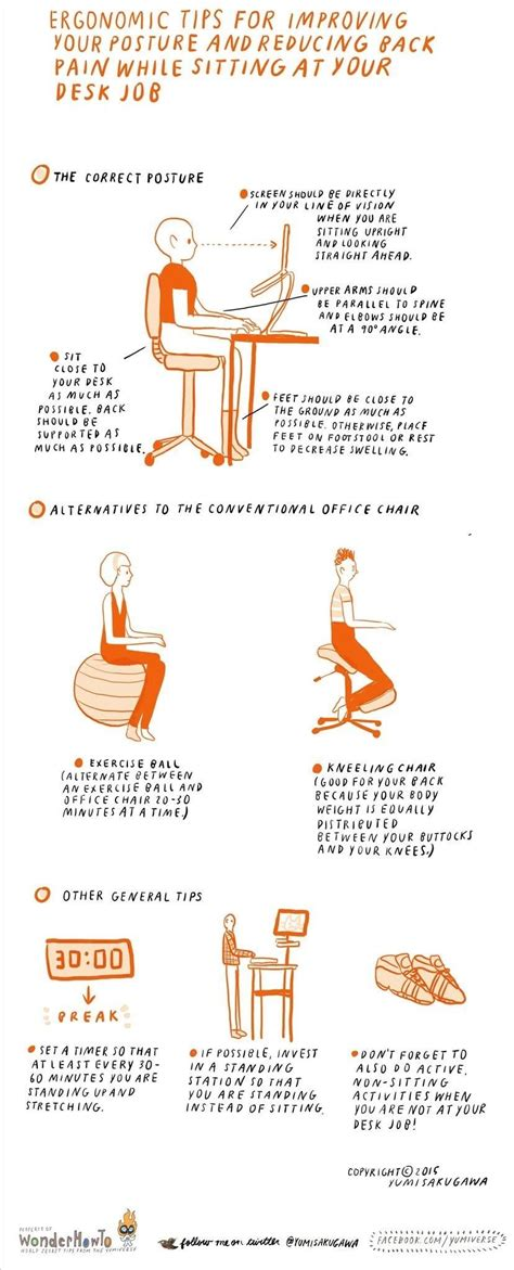 standing desk lower back pain ergonomic tips for improving posture reducing back pain