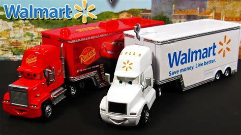Cars 2 Mack And Wally Hauler Exclusive Semi Trucks Disney