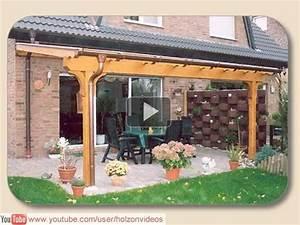 Terrassenüberdachung über Eck : terrassen berdachung mit bauanleitung terrasse selbst berdachen ~ Whattoseeinmadrid.com Haus und Dekorationen