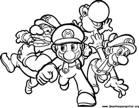Giga Bowser Kleurplaten by Mario Bros Desenhos Para Imprimir Colorir E Pintar