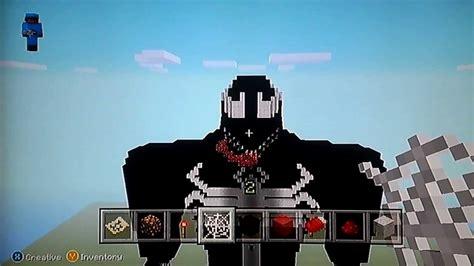 Venom Minecraft Xbox 360 Build Youtube