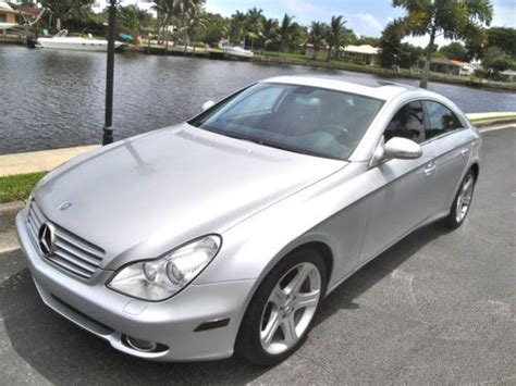 06 Mercedes Cls500 by Find Used 06 Mercedes Cls 500 Nav Sunroof Sport 72k