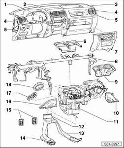 Skoda Workshop Manuals  U0026gt  Fabia Mk2  U0026gt  Heating  Ventilation