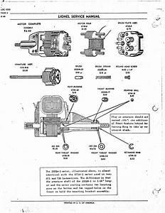 Lionel 671 Motor Repair Parts