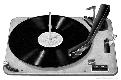 Dual 1008 Four Speed Automatic Record Changer Manual ...