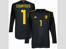 Belgium Home Courtois Goalkeeper Jersey 2018 2019