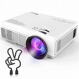 Vivimage C3 Portable Projector With 2400 Lux  Mini