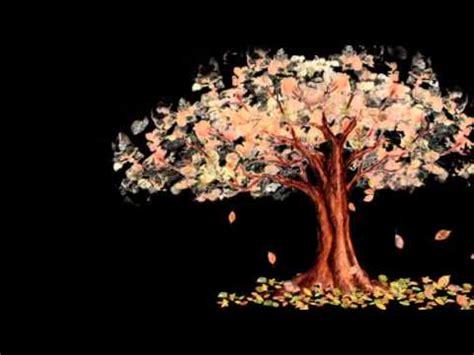 falling autumn leaves animation youtube