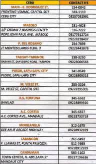 sun city customer service phone number hotline contact numbers in cebu