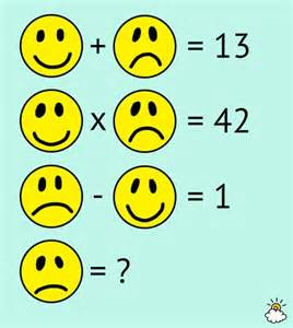 Can You Solve Math Problems