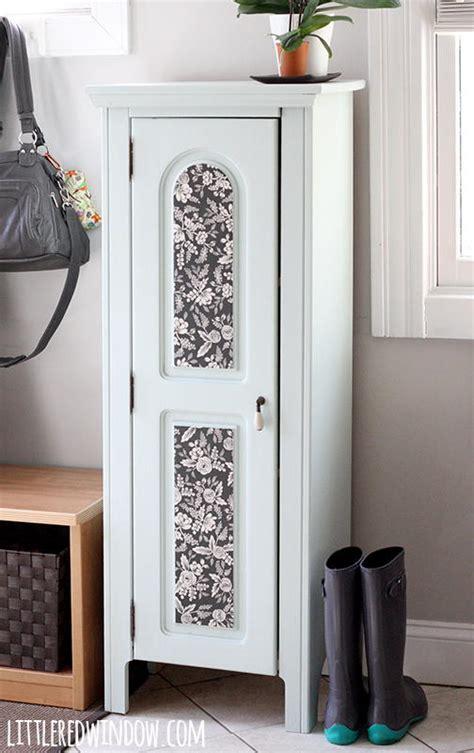 elegant refurbished entryway cabinet favecraftscom
