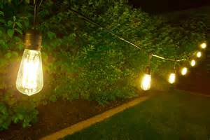 outdoor led decorative string lights 10 pendant sockets fits e26 bulbs empty bases