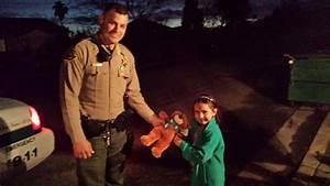 Fresno County Sheriff's deputy replaces girl's lost teddy ...